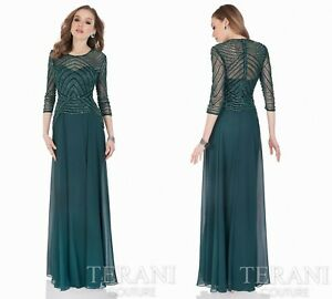 TERANI COUTURE 1623M1860 authentic dress. MANY SIZES . LOWEST PRICE !