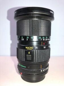 Canon 35-105mm f3.5 FD Macro Zoom lens for A-1 AE-1 F1 etc. - Nice Mint-!