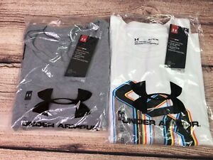 Under Armour XL men's Short Sleeve T Shirts Lot Pursuit of Victory Loose Fit $44.99