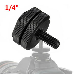 Camera Adapter Mount 14 Thumb Screw Flash Camera Adapter Mount For GoPro New