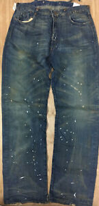 Levi's LVC  Stumpy 501 Jeans Selvedge Denim Levis Vintage Clothing Made In USA