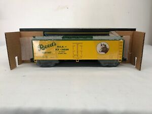 Weaver Reed#x27;s Dairy Refrigerator Car 1997 Limited Edition 1 of 300 Mth Lionel