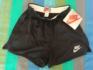 Vintage Deadstock Nike Silver Red Label Running Shorts Size Medium waffle museum