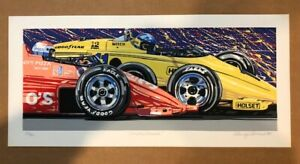 quot;Unser Unserquot; 1985 **RANDY OWENS** Signed Original Serigraphs Limited Edition $249.00