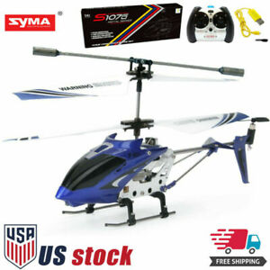 Syma S107G 3 Channel Mini Remote Control RC Helicopter 3.5CH Alloy Copter Gyro