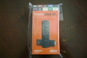 Amazon Fire TV Stick 4K with Alexa Voice Remote streaming media player Sealed!!