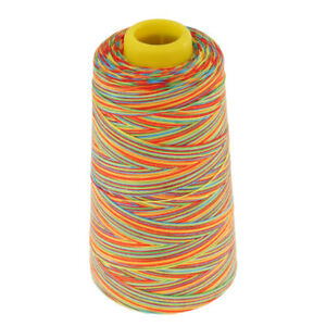 1500 Yards Polyester Sewing Threads for Sewing Machine 20S 2 Multicolor $9.51