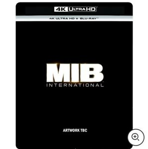 Men In Black: International – 4K Ultra HD & Blu-ray Exclusive Steelbook