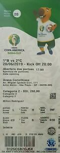 COPA AMERICA 2019 TICKETS - GAME 20 (QUARTER FINALS)