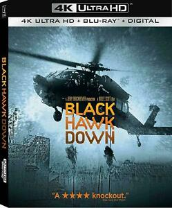 Black Hawk Down (4K Ultra HD+Blu-Ray+Digital) New wSLIP
