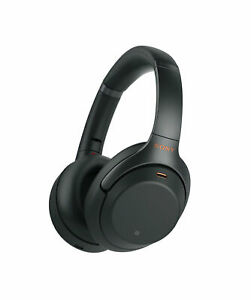 Sony WH-1000XM3B Bluetooth Wireless Noise Canceling Stereo Headphones Black