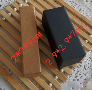 100x Kraft Paper Gift Boxes Party Jewelry Wedding Christmas Wrap Packing supply