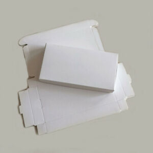 100x Kraft Paper Gift Box Party Birthday Wedding Christmas Soap Wrapping Package