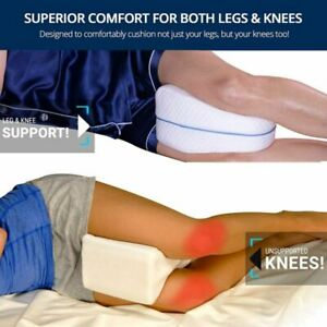 Orthopedic Contour-Legacy-Leg Pillow for Back Hip Legs & Knee Support Wedge USA