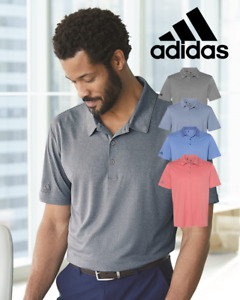 ADIDAS Mens Heather GOLF Polo Sport Shirts Size S 3XL NEW S 4XL A240 $34.95