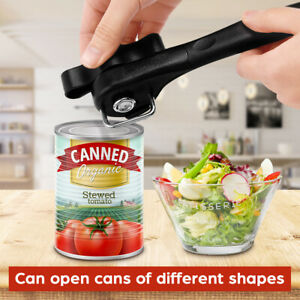 New World's Best Stainless Ergonomic Steel Safety Side Cut Manual Can Tin Opener