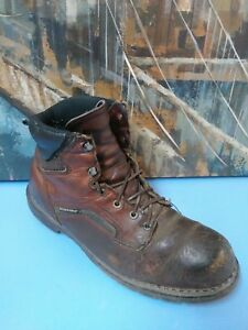 Mens Red Wing 926 EH Dyna Force Brown Leather Work Boots Size10.5 EE