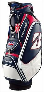 BRIDGESTONE caddy bag TOUR B All British model CBG871BT white 9.5 type  h-541