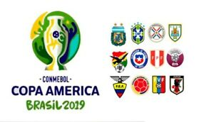 Copa America Final Match 26 -  2 Tickets - Category 2 - 7th July Rio de Janeiro