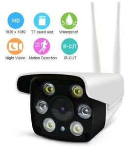 HD 1080P Wireless WIFI IP In/Outdoor CCTV Camera System Home Security IR Camera