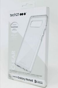 Tech21 Pure Clear Case for Samsung Galaxy Note 8 - Clear - NEW