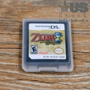The Legend of Zelda: Phantom Hourglass Game Card  fit for Nintendo 3ds US VER