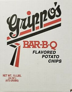 Grippo's BBQ Potato Chips 1.5 Lb Box - Free Shipping!