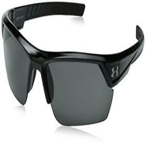 Under Armour Igniter 2.0 Shiny Black Frame, with Black Rubber and Gray Lens $99.00