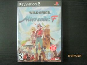 Wild Arms: Alter Code F PlayStation 2 (Free Shipping and Tracking)