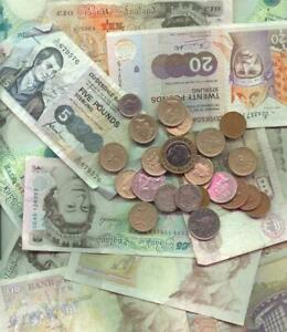 ENGLISH BANK NOTES GLOSSY POSTER PICTURE PHOTO pound euro money currency uk 1034 $10.99