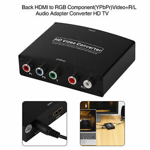 HDMI to RGB Component (YPbPr) Video +RL Audio Adapter Converter HD TV OE US
