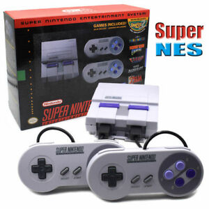 New Super Nintendo Classic SNES Mini Entertainment System Games Without Charger