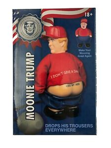 New! Moonie Trump President Donald Trump Novelty Gag Gift Butt Mooning Toy