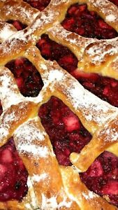 Berry pie. Delicious recipe. Only 1 cent