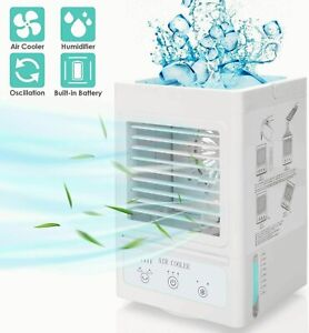 Portable Quiet 38DB Indoor Desktop Water Oscillating Multi Speed Mode Box Fan