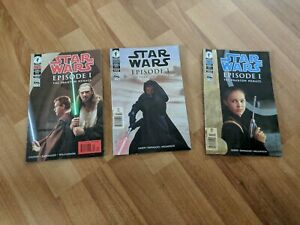 Star Wars The Phantom Menace  Comic Book Collection 1 3 and 4