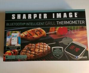 Sharper Image Bluetooth Intelligent Grill Thermometer IOS/Android Capability