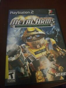 Metal Arms Glitch in the System Sony PlayStation 2 PS2 2003 Tested Complete