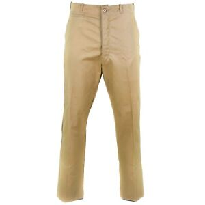 Genuine Greek army military khaki pants dead stock chinos trousers NEW