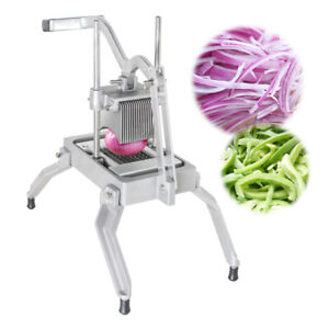 Commercial Manual Onion Fruit Vegetable Cutter Slicer Cutting Machine Easy Move