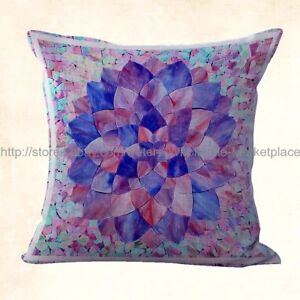 decorative pillows mandala flower yoga meditation cushion cover
