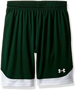 (Youth X-Large Forest Green (301)) - Under Armour Boys' Maquina Shorts