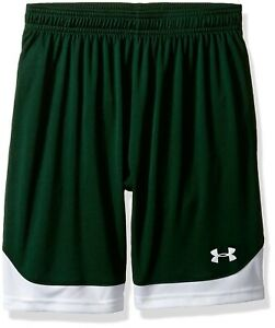 (Youth Medium Forest Green (301)) - Under Armour Boys' Maquina Shorts