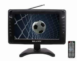Portable TV Rechargeable 10