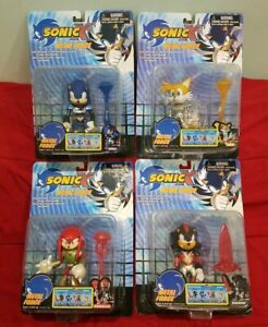 Sonic The Hedgehog X Metal Force Toy Island Rare Lot Sonic Project Sega