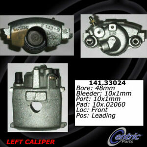 Centric 141.33023 Disc Brake Caliper Semi Loaded Caliper Front Right Reman $44.99