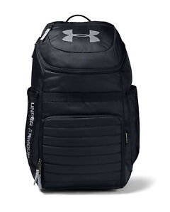 Under Armour UA Undeniable 3.0 Storm™ Black Gray Backpack Book Bag