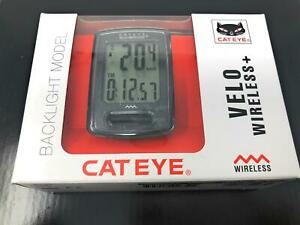 NEW Cateye Velo Wireless+ Plus CC-VT235WB 8 Functions 11 Features Cycle Computer
