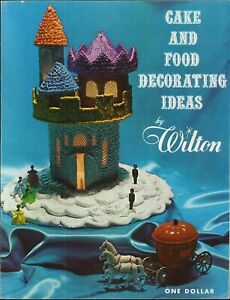 Wilton Cake & Food Decorating Ideas 1966 Instructions Products Employees