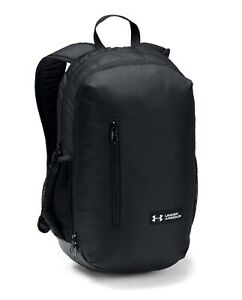 Under Armour UA ROLAND Storm™ 17L Solid Black Backpack Book Bag